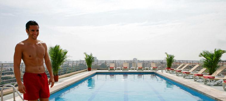 Hotel con piscina y vistas en valencia expo hotel valencia - Piscinas prefabricadas en valencia ...