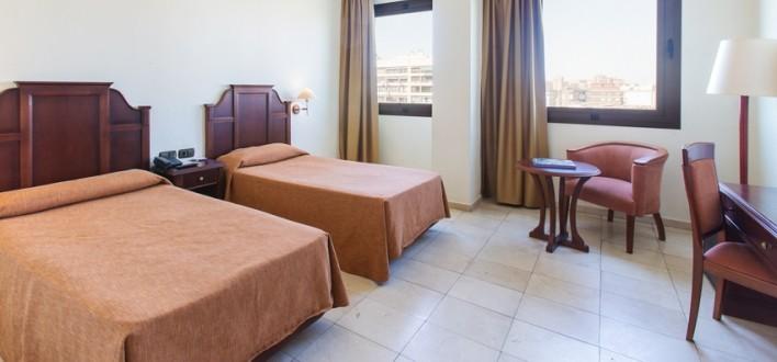 habitaci n familiar en el centro expo hotel valencia